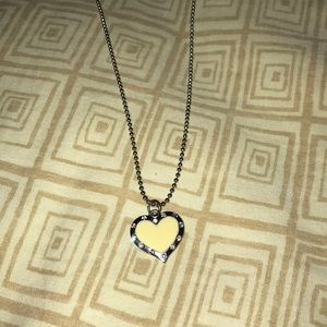 Other - Heart & diamonds necklace